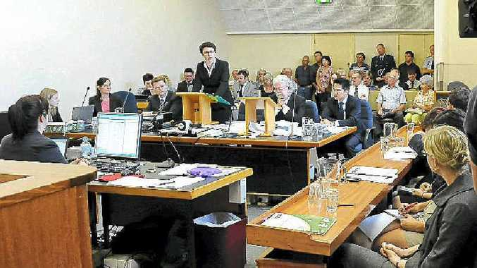 The Floods Commission of Inquiry heard from four members of the community during its first day.