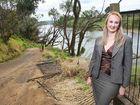 Cr Cheryl Bromage talks about restoration of Kholo Botanical gardens after the flood.