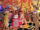 Felicity Newman at All Things Christmas at Eumundi has been getting busier in the lead-up to December 25.