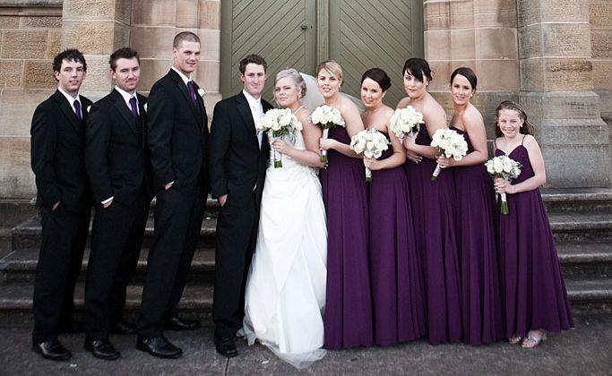 Newlyweds Adam and Samantha Jolliffe, both 23, had a lavish wedding reception at Woodlands.