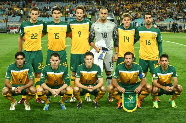 The Socceroos play Japan on Tuesday night at Suncorp Stadium.