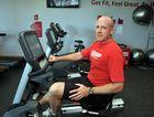 Snap Fitness franchise owner Matt Fallon inside the Caloundra gym.