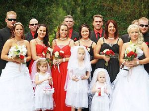 Twins tie knot at double wedding