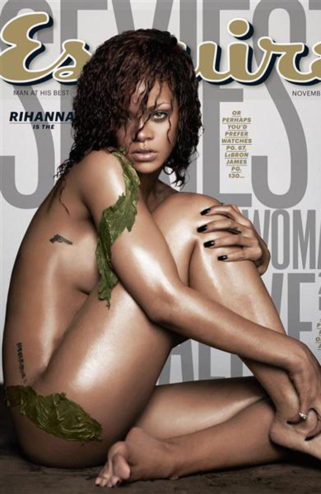 Rihanna is Esquire's Sexiest Woman Alive 2011.