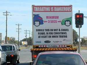 Mackay drivers love tailgating