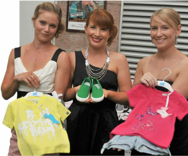 Online baby clothing store Closet Petite's Natalie Thomas, Nicole Davison and Melissa Glass show what baby clothes should look like.