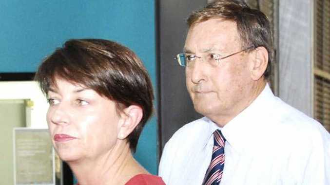 Premier Anna Bligh and Member for Toowoomba North Kerry Shine, named in the LNP's dirt files.