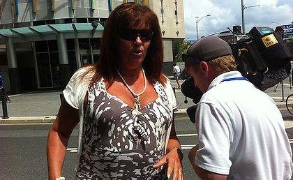 Accused spitter Anne Elizabeth Ferguson-Howe.