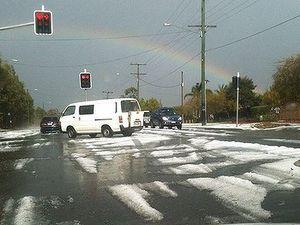 Motorist killed in severe storm
