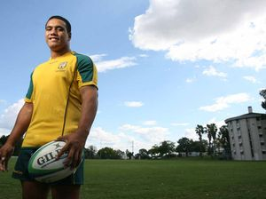 Rare win sign for Wallabies