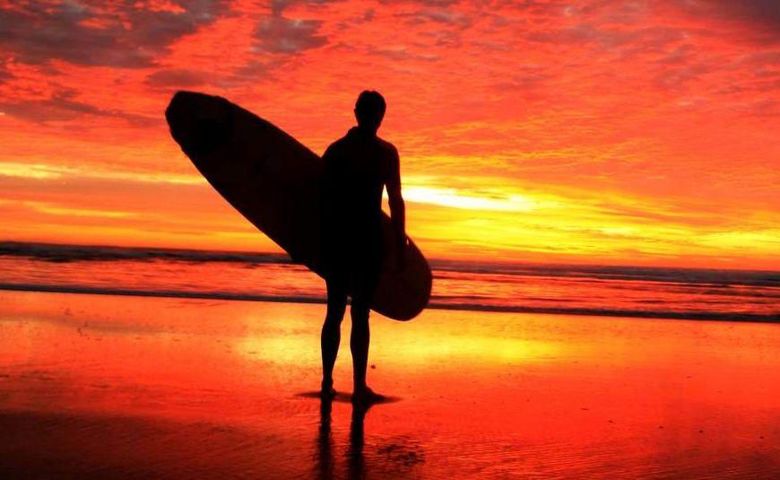 Sunshine Coast photographer Nicola Brander captured this magic sunrise photograph as part of a series.