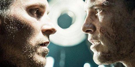 Christian Bale and Sam Worthington in Terminator Salvation.