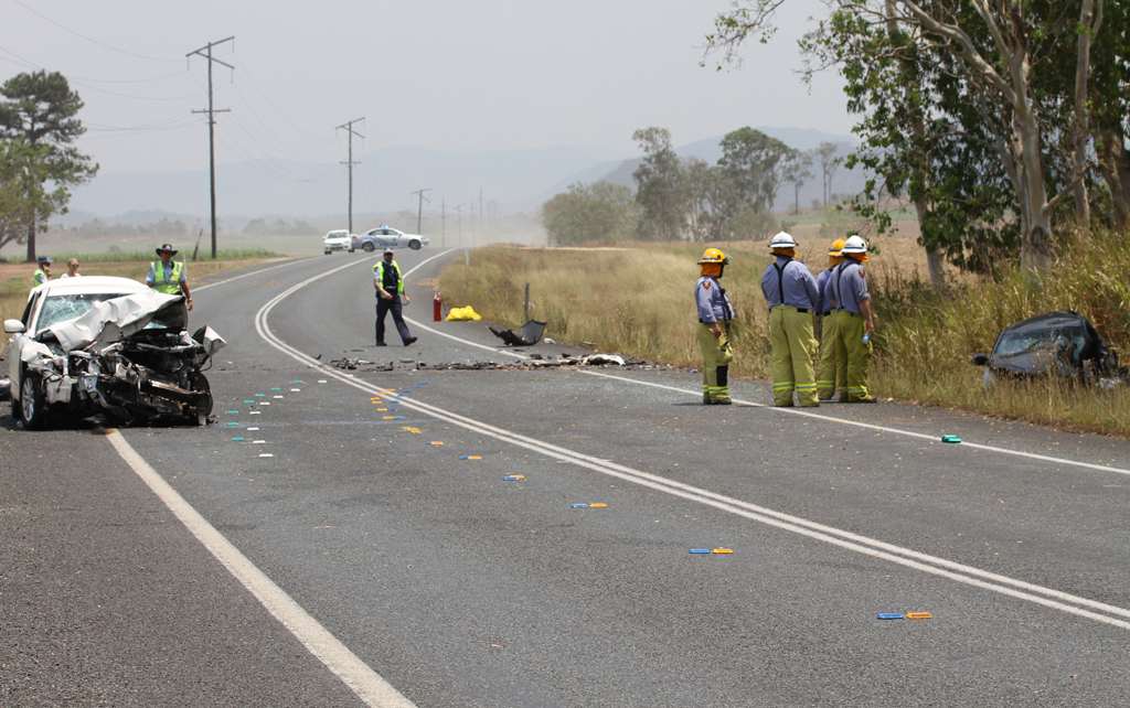 Mark and Fenton Wooley, of Mackay, died when the vehicle they were travelling in and another sedan collided in an early-morning crash.