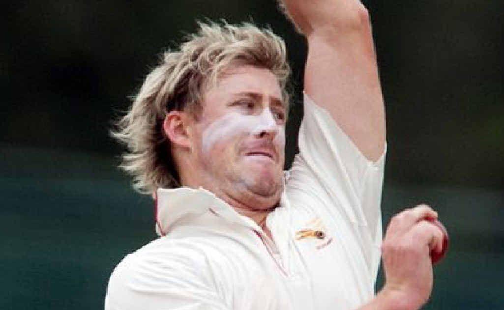 Scorchers opening bowler Nick Fitzpatrick.