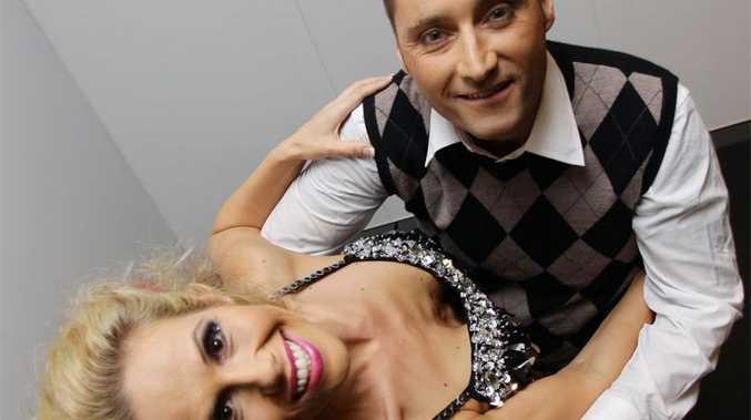 Ray Sawyer dances with Nadine Sullivan.