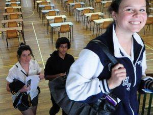 School leavers plan their futures