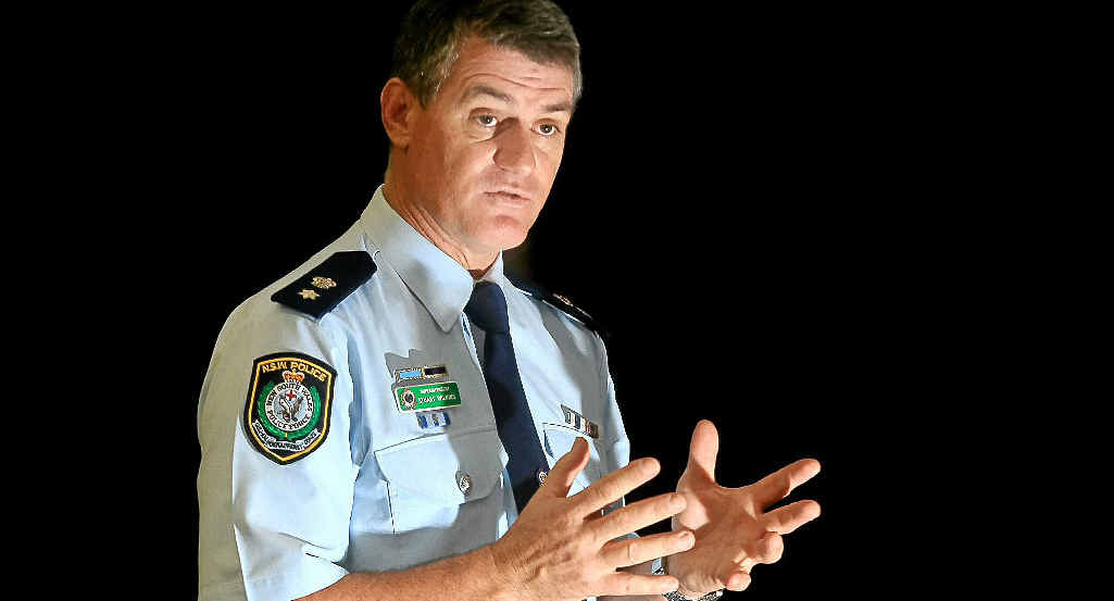 Superintendent Stuart Wilkins has reported zero armed robberies for the Tweed Byron Local Area Command.