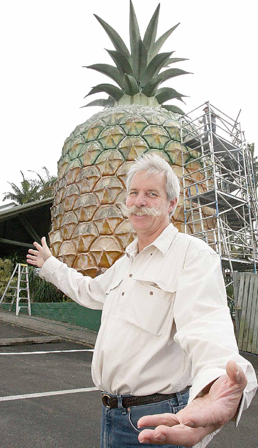 Big Pineapple general manager Paul Ziebarth