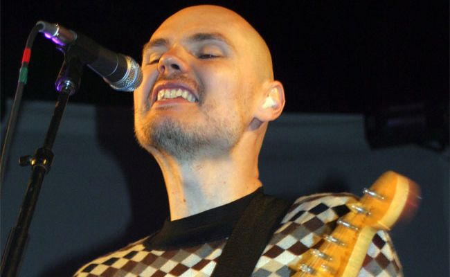 The Smashing Pumpkins frontman Billy Corgan has sent up a professional wrestling company.