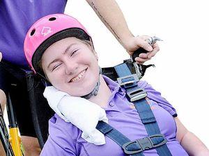 Gemma prepares for ride of her life