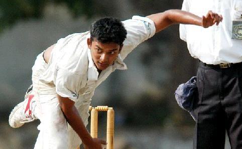 Taipans coach Umhar Samsudeen in action in Sri Lanka.