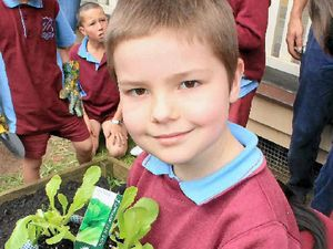 Students veg out in a healthy way