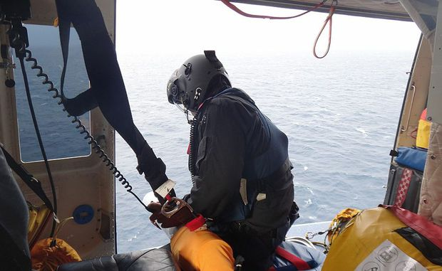 Four aircraft, including RACQ-CQ Rescue's helicopter, searched for the missing fisherman.