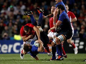 France versus Wales - RWC 2011