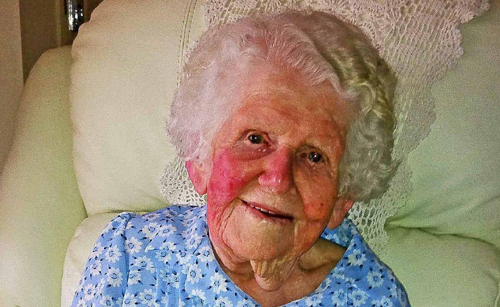 BIRTHDAY GIRL: Sister Mary Raymond celebrated her 100th birthday recently.