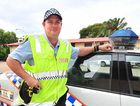 Constable Scott Chambers at Maryborough police station.