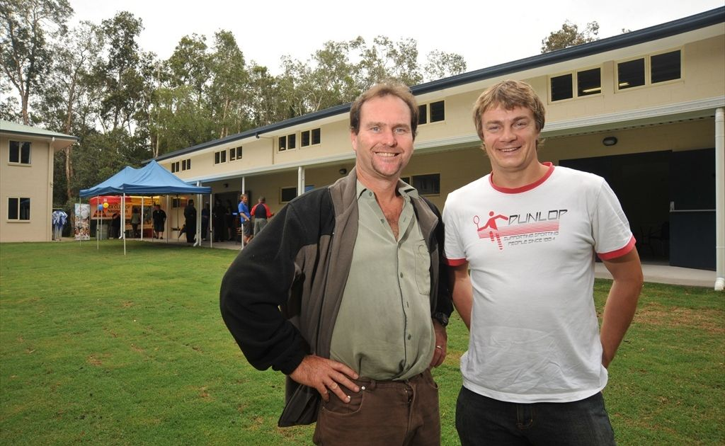 Nick Gane and Phil Mills constructed the new building at the Mudjimba Apex Camp. His Gane's Home Improvements Business is now taking on more commercial work.