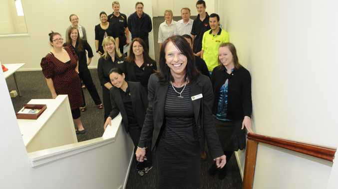 Employees of The Apprenticeship Company are over the moon at having finally moved back into their Ruthven St premises.