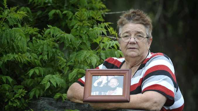 Tucabia woman Denise Reardon lost her son Allan Reardon to suicide six years ago, and said she didn't believe the mental health services in the Clarence Valley were adequate. Denise holds a photo of her grandson Travis with her son Allan.