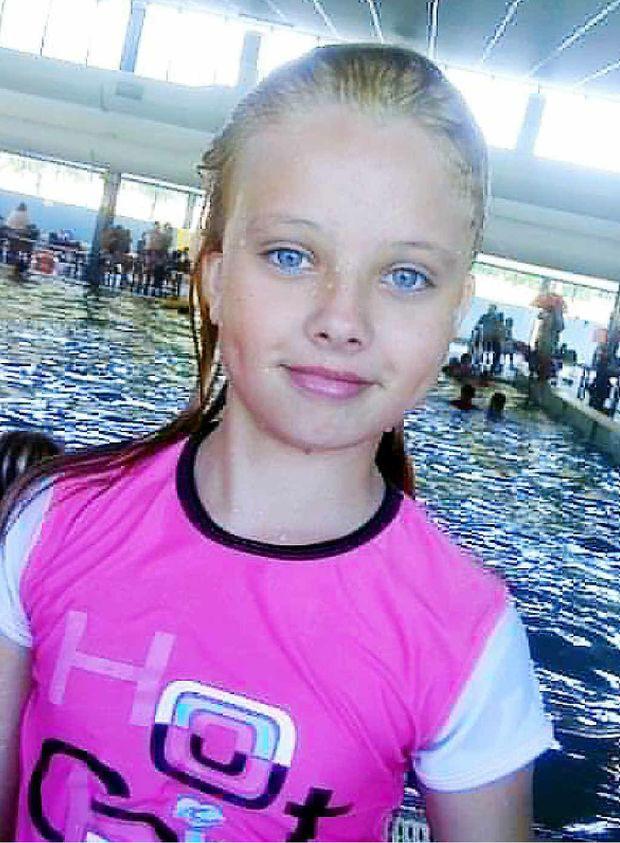Shayla Hennessy, 10, died in a car crash.