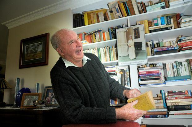 Highfields resident John Brett looks forward to the Queen's visit to Brisbane on Monday.