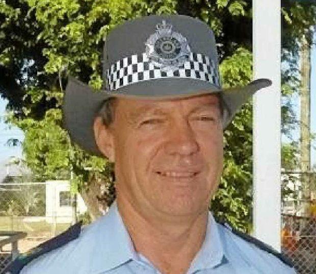 Missing police officer Senior Sergeant Mick Isles.