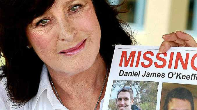 Geelong woman Lori O'Keeffe has travelled the coast searching for her son Daniel James, who disappeared from the family home in July.