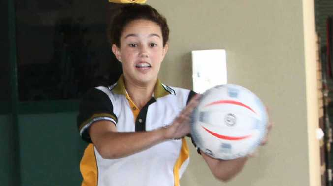 Stanwell Development Squad member Taylor Nock during the final training session in Emerald.