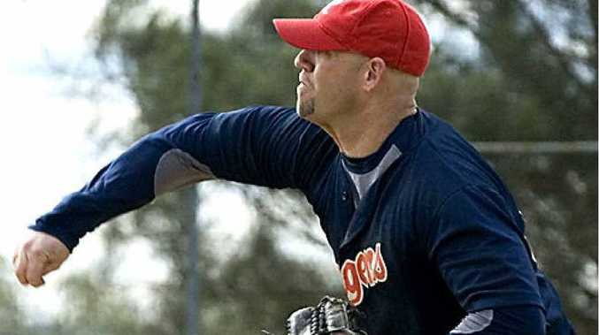 Relief pitcher Brian Hipps will be out of action for Toowoomba Rangers this weekend.