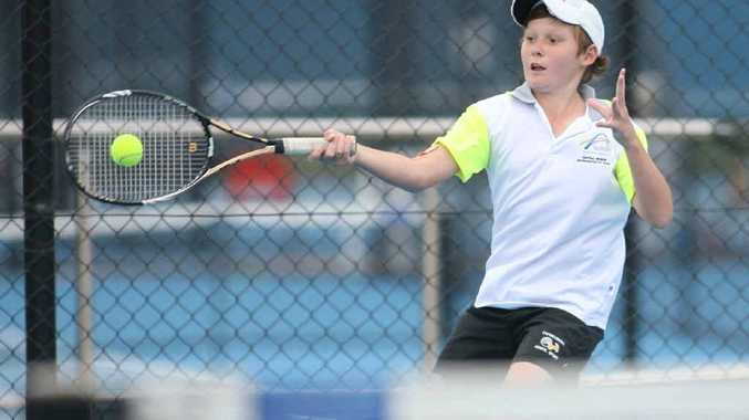Now based in Brisbane, Mitch Harper earned his place in the Australian Open boys' singles tournament after qualifying for the AGL Loy Yang Traralgon Junior International in Victoria, which started on Saturday.