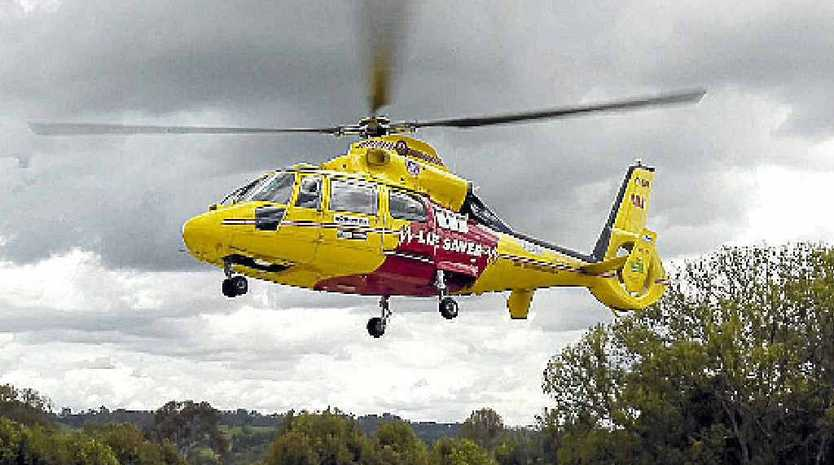 The Northern Rivers Westpac Life Saver Rescue Helicopter, file photo.