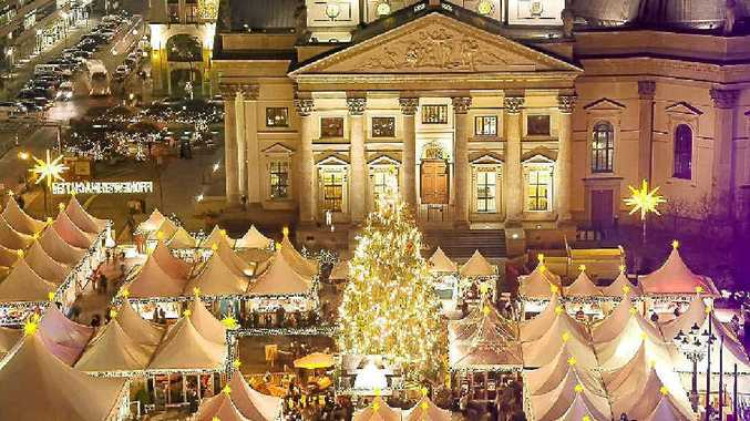 UP IN LIGHTS: Enjoy Berlin's Christmas markets on this festive tour of Europe's best markets.
