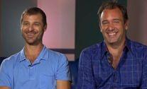 Creators of South Park Matt Stone and Trey Parker.
