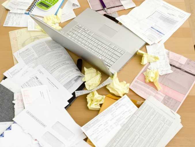 Paperwork, headaches, tax time, business help