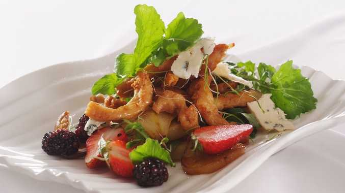Fry's Vegetarian Sweet Chilli Chicken Style Salad