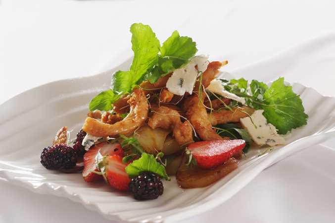 Fry's Vegetarian Sweet Chilli Chicken Style Salad