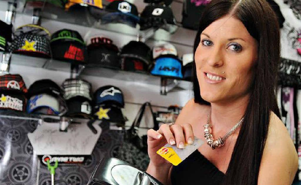 Tracey Warne of Unearthed Streetwear, in Mary St, had not heard about the new EFTPOS fees.