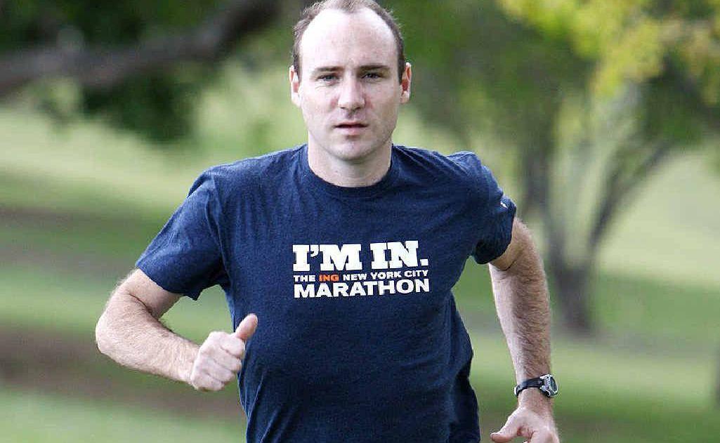 Ipswich athlete Matt Casos has spent 22 years chasing his dream of competing at the world famous New York City Marathon.
