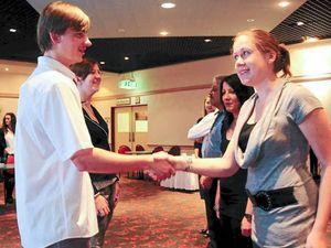 Mentors help high school kids