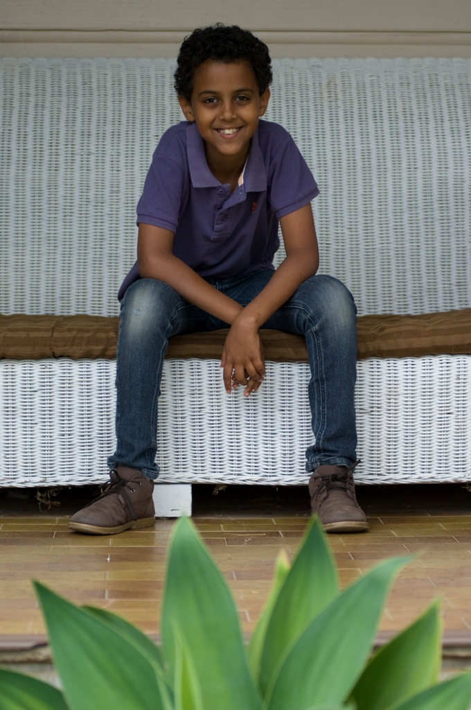 Amanuael Visser, 10, of Tyagarah, is set to wow the crowds with his singing on Young Talent Time.